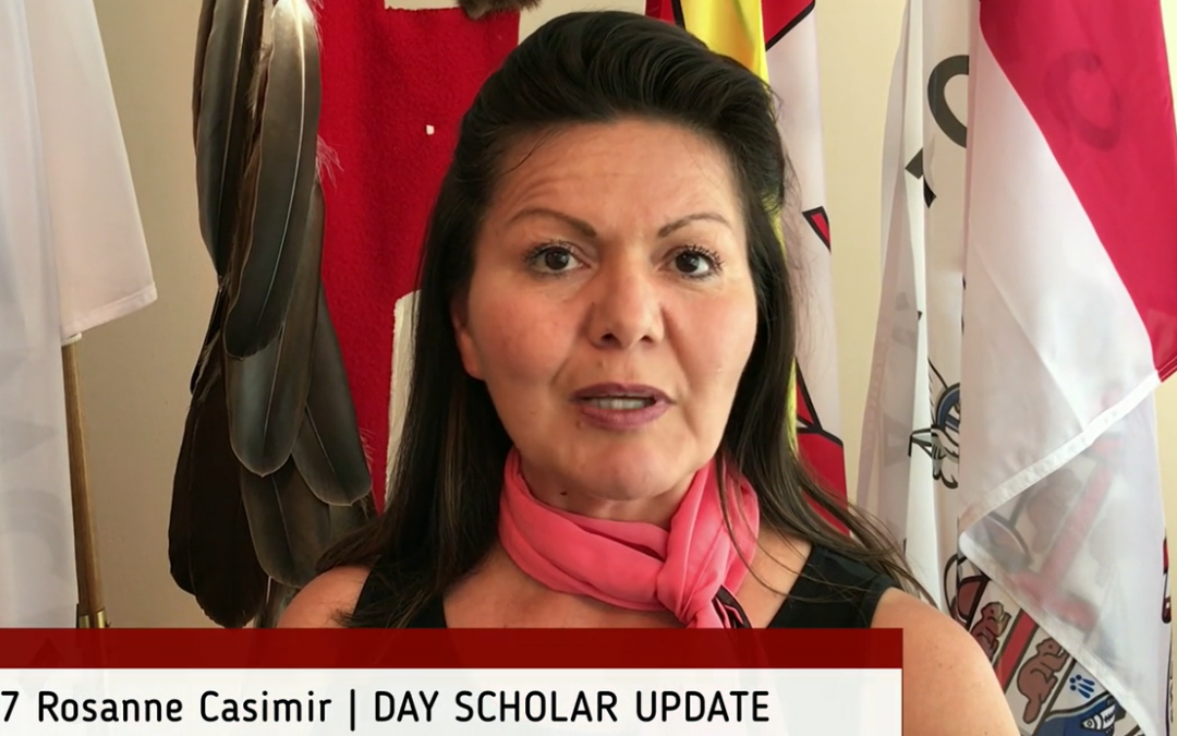 Day Scholar update from Chief and Council